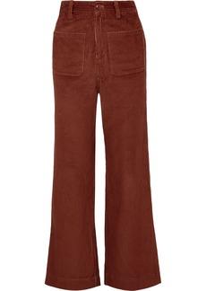 Ulla Johnson Fonda Cotton-corduroy Straight-leg Pants