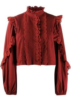 Ulla Johnson frill-trim blouse