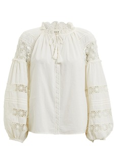 Ulla Johnson Gemma Cotton Voile Blouse