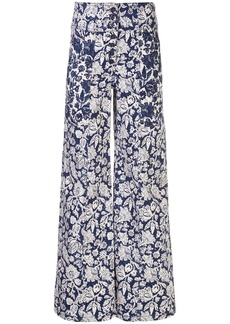 Ulla Johnson Greer floral print jeans
