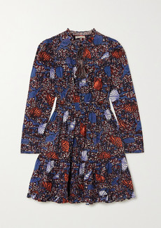 Ulla Johnson Ismaya Ruffled Printed Cotton Dress