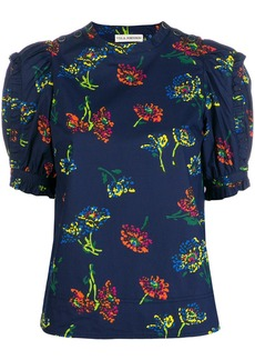 Ulla Johnson kari floral blouse