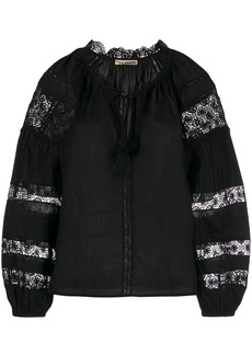 Ulla Johnson lace peasant blouse