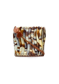 Ulla Johnson layered bead shoulder bag