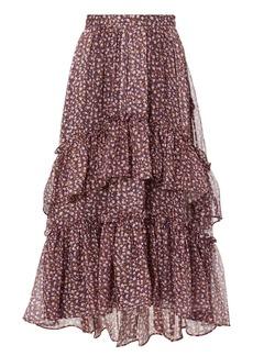 Ulla Johnson Maria Maxi Skirt