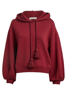 Ulla Johnson Mel Cotton Oversized Hoodie