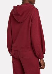 Ulla Johnson Mel Cotton Oversized Hoodie