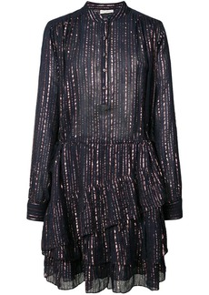 Ulla Johnson metallic striped dress