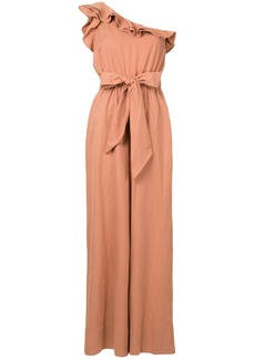Ulla Johnson off-shoulder ruffle jumpsuit