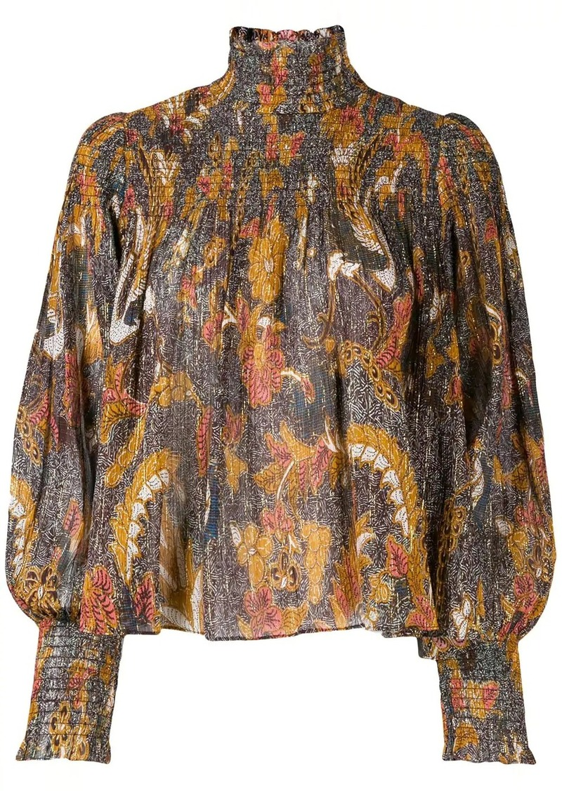 Ulla Johnson paisley blouse