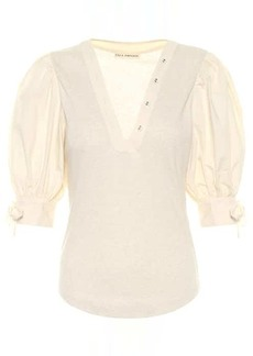 Ulla Johnson Pia cotton top