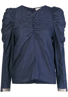 Ulla Johnson posey lurex blouse
