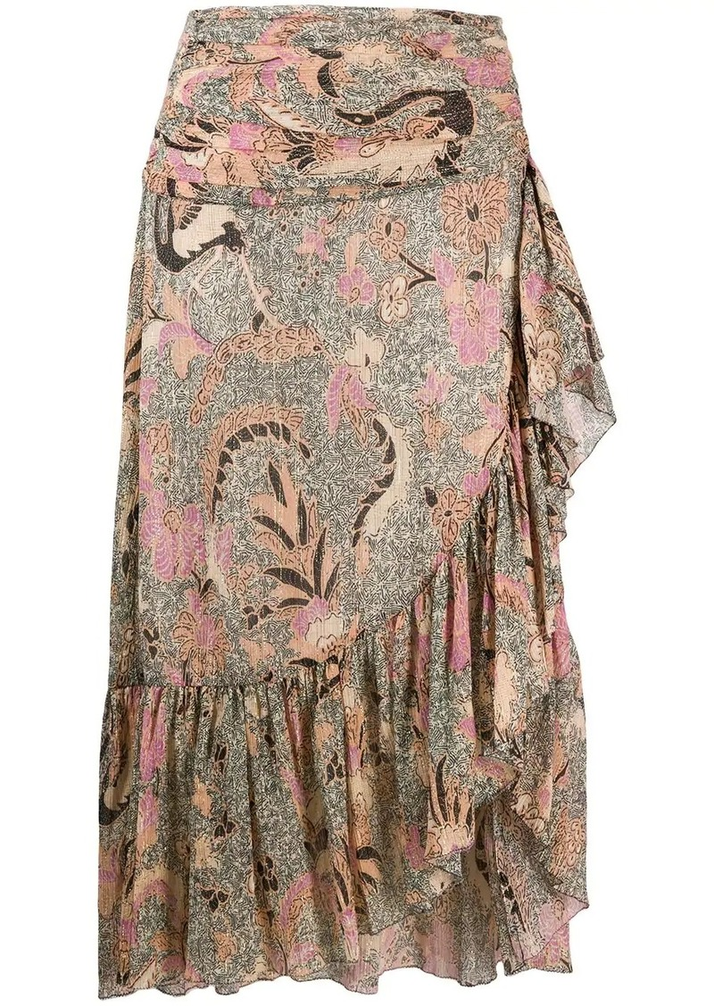 Ulla Johnson printed Ailie skirt