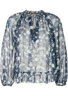 Ulla Johnson round neck floral print blouse