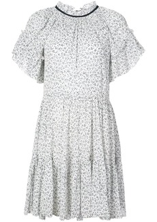 Ulla Johnson ruffle trim floral dress