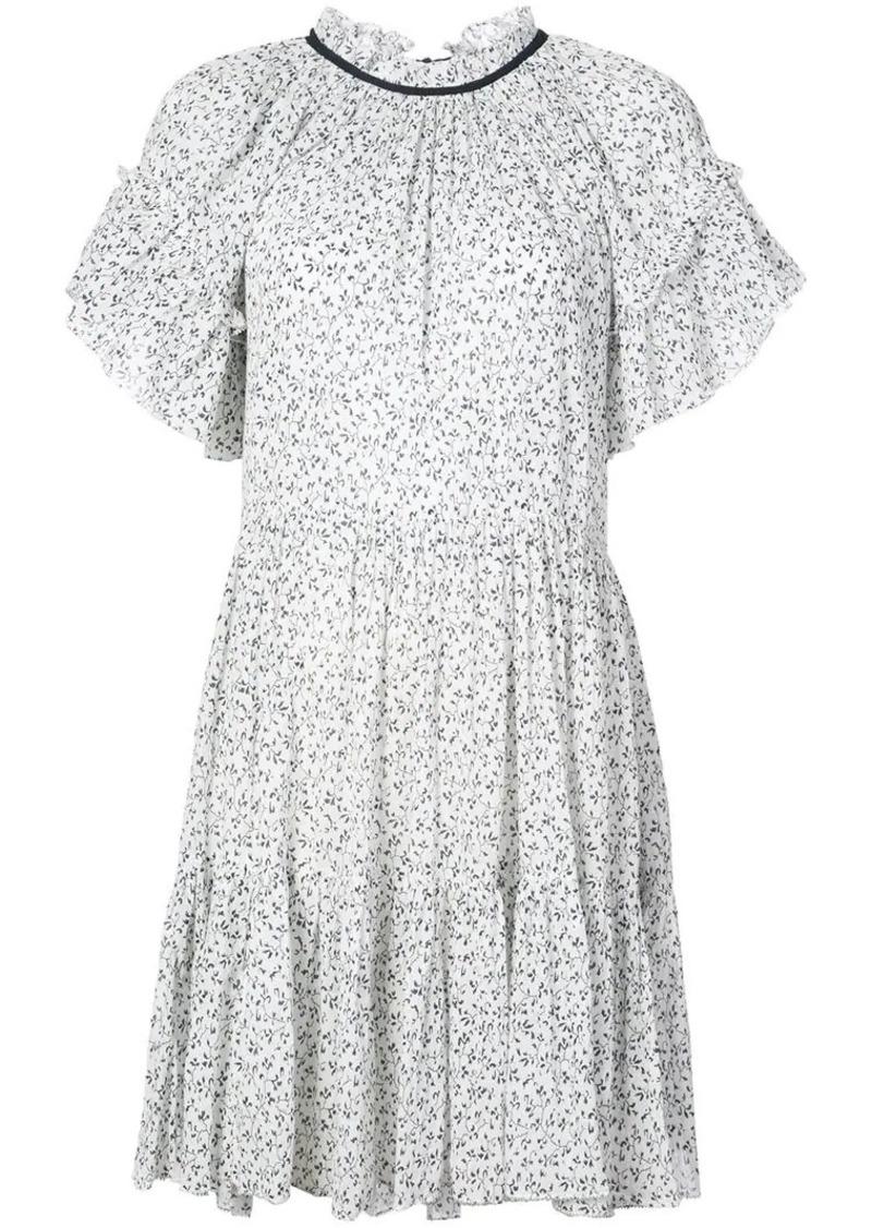 f015dc1f62 ruffle trim floral dress
