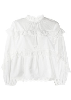 Ulla Johnson ruffled Isa blouse