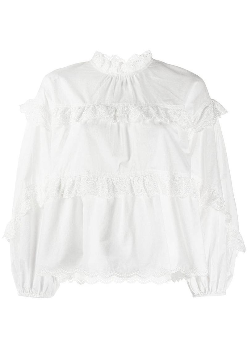 Ulla Johnson ruffled Isa blouse