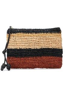 Ulla Johnson Shima colour-block pouch