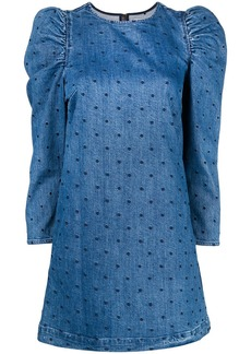 Ulla Johnson short denim dress