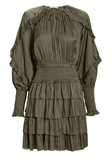 Ulla Johnson Soraya Olive Dress
