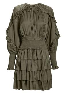 Ulla Johnson Soraya Olive Dress