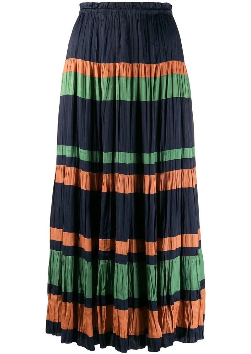 Ulla Johnson striped maxi skirt