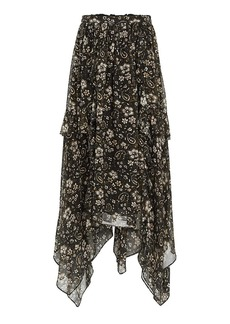 Ulla Johnson Torri Midi Skirt