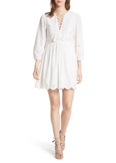 Ulla Johnson Ailey Cotton & Linen Dress
