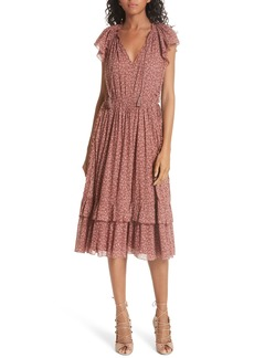 Ulla Johnson Anja Tassel Tie Dress