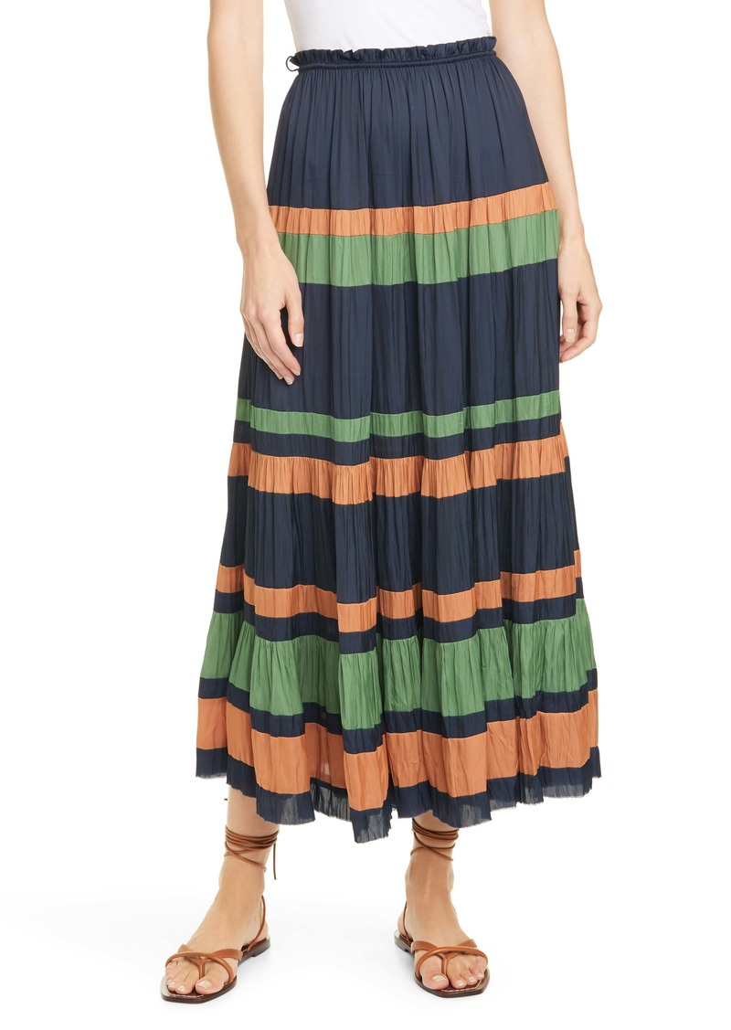 Ulla Johnson Avelina Stripe Skirt