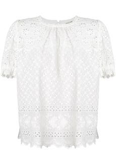 Ulla Johnson broderie anglaise blouse - White