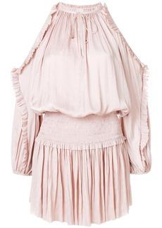 Ulla Johnson cold shoulder dress - Pink & Purple