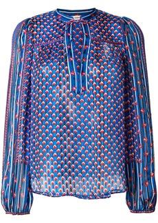 Ulla Johnson Constanse blouse - Blue