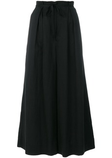 Ulla Johnson cropped flared trousers - Black