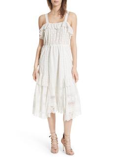 Ulla Johnson Edwina Eyelet Dress