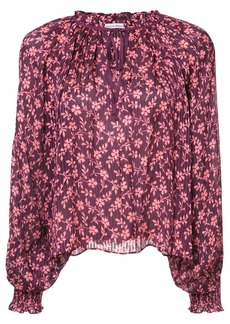 Ulla Johnson floral boho blouse - Red