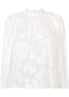 Ulla Johnson floral lace blouse - White