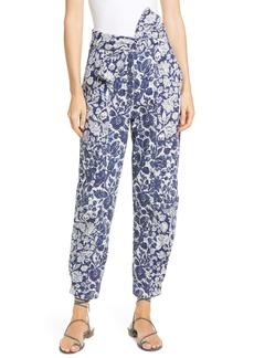 Ulla Johnson Floral Print Storm Jeans