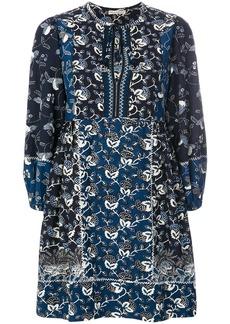 Ulla Johnson floral shift dress - Blue