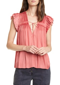 Ulla Johnson Freya Shirred Blouse