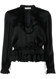 Ulla Johnson frill trim blouse - Black