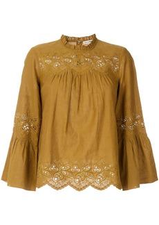 Ulla Johnson Halsey blouse - Brown