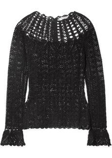 Ulla Johnson Heidi Crocheted Pima Cotton Top