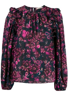 Ulla Johnson floral print blouse