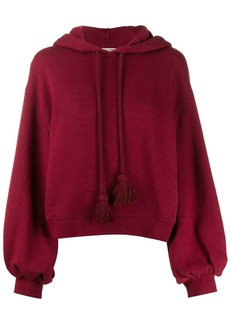 Ulla Johnson tassel drawstring hoodie