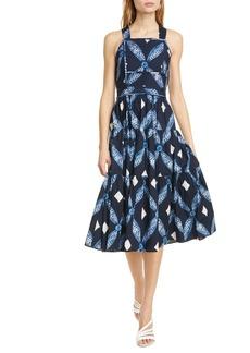 Ulla Johnson Jiya Quilted Midi Dress