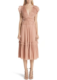 Ulla Johnson Jolee Plissé Dress