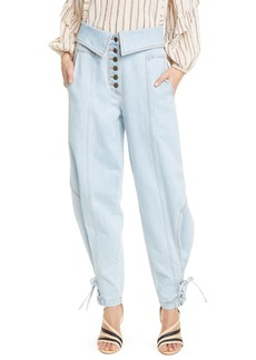 Ulla Johnson Kingston Foldover Jeans