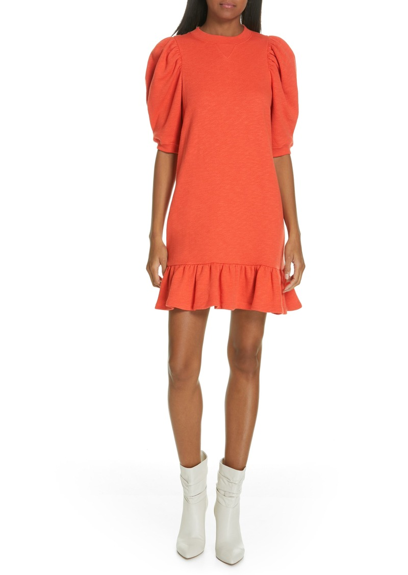 ea7f6828cfd2 Ulla Johnson Ulla Johnson Landry Puff Sleeve Sweatshirt Dress | Dresses